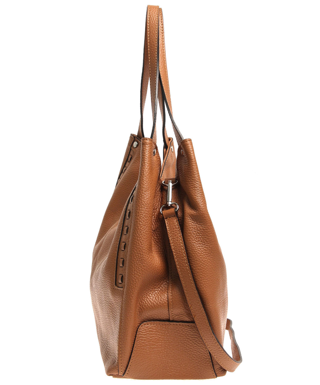 Italian Whipstitch Double Handle Hobo (4287508283476)