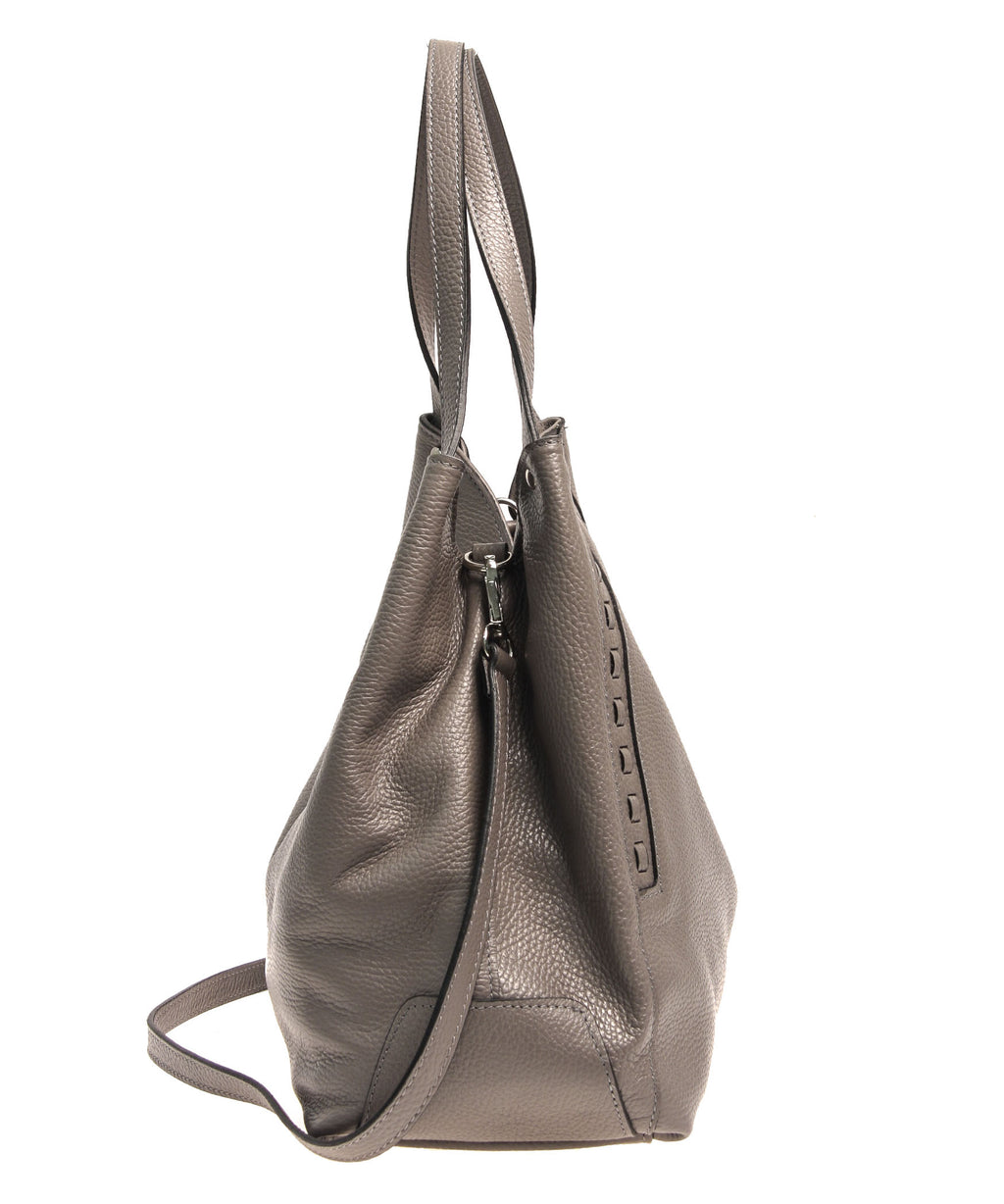Italian Whipstitch Double Handle Hobo (4287508349012)