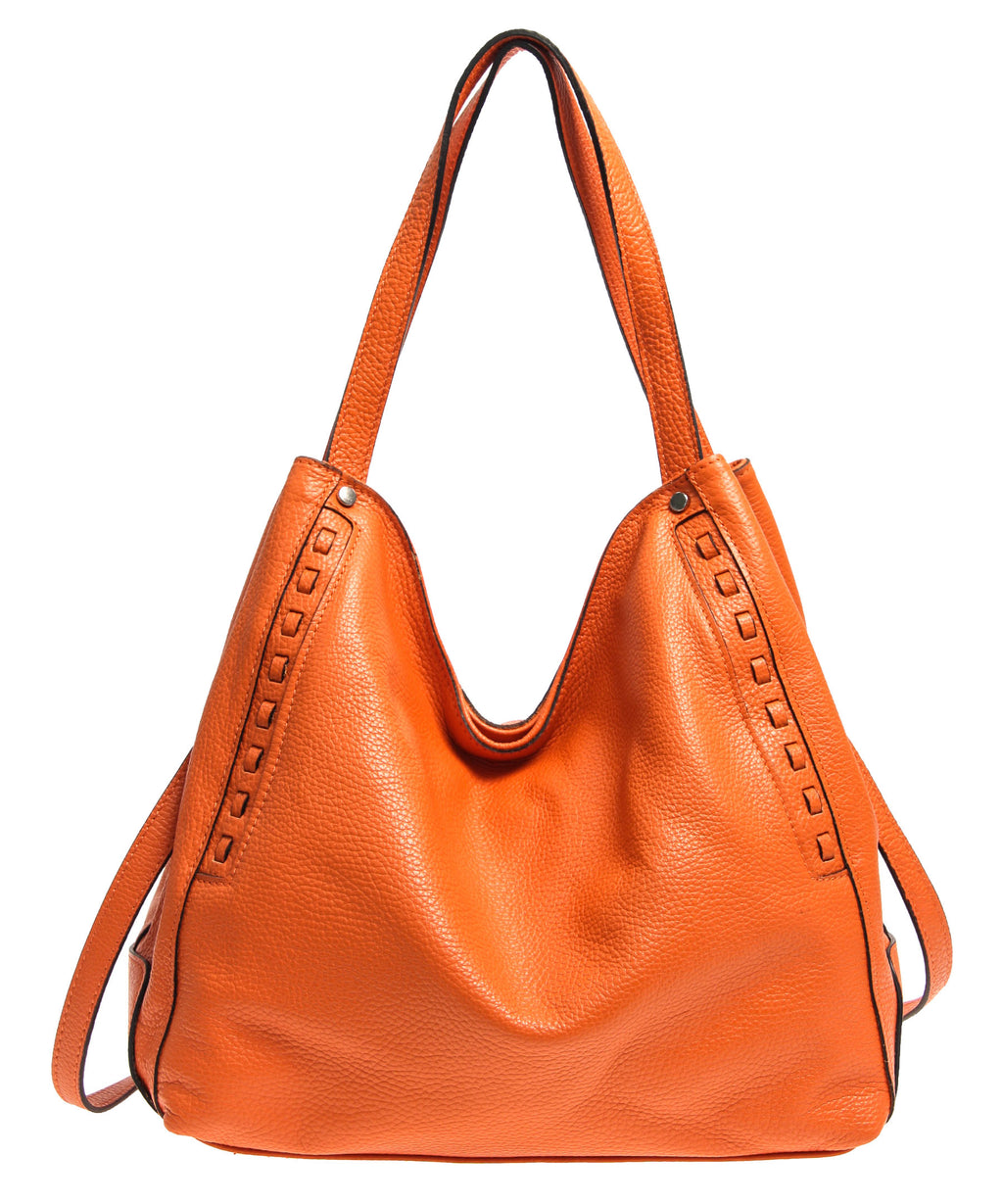 Italian Whipstitch Double Handle Hobo (4287508447316)
