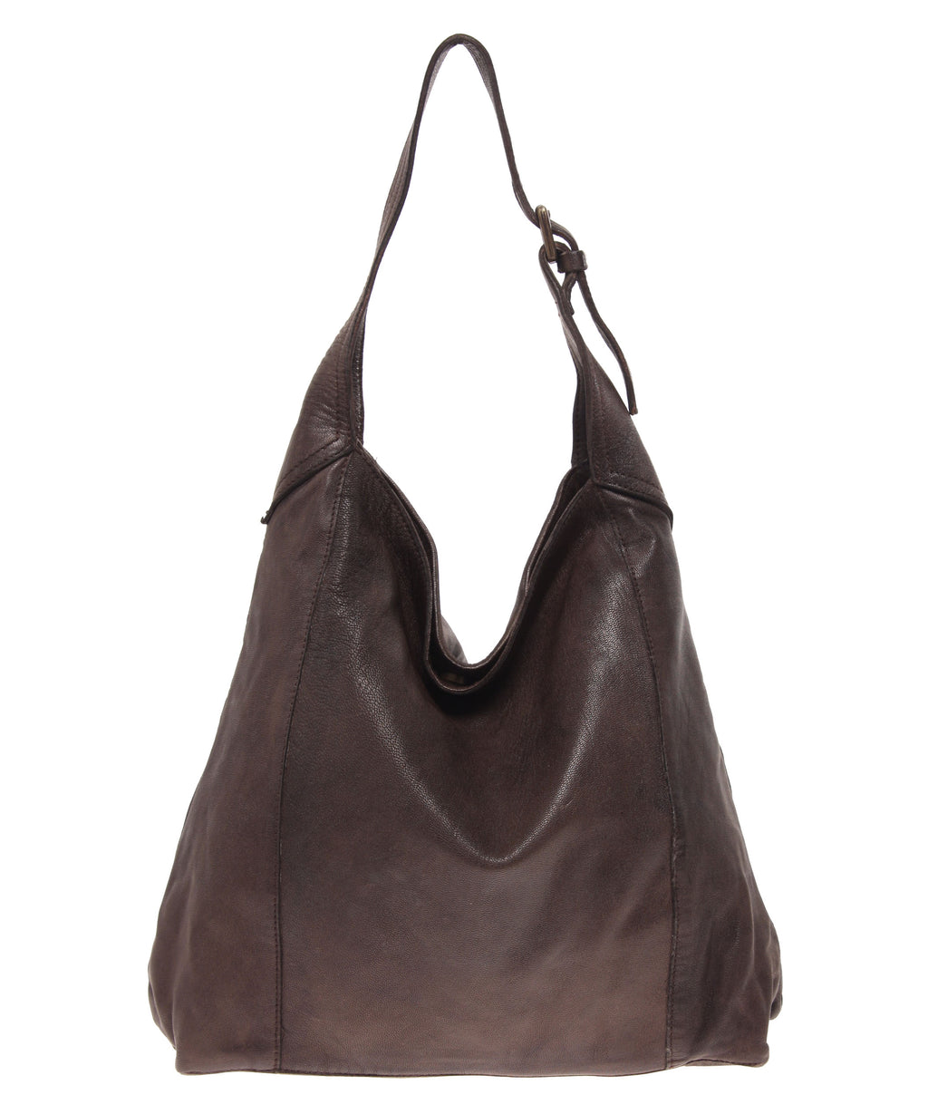Tano Simple Hobo with Buckle Detail (1324819808340)