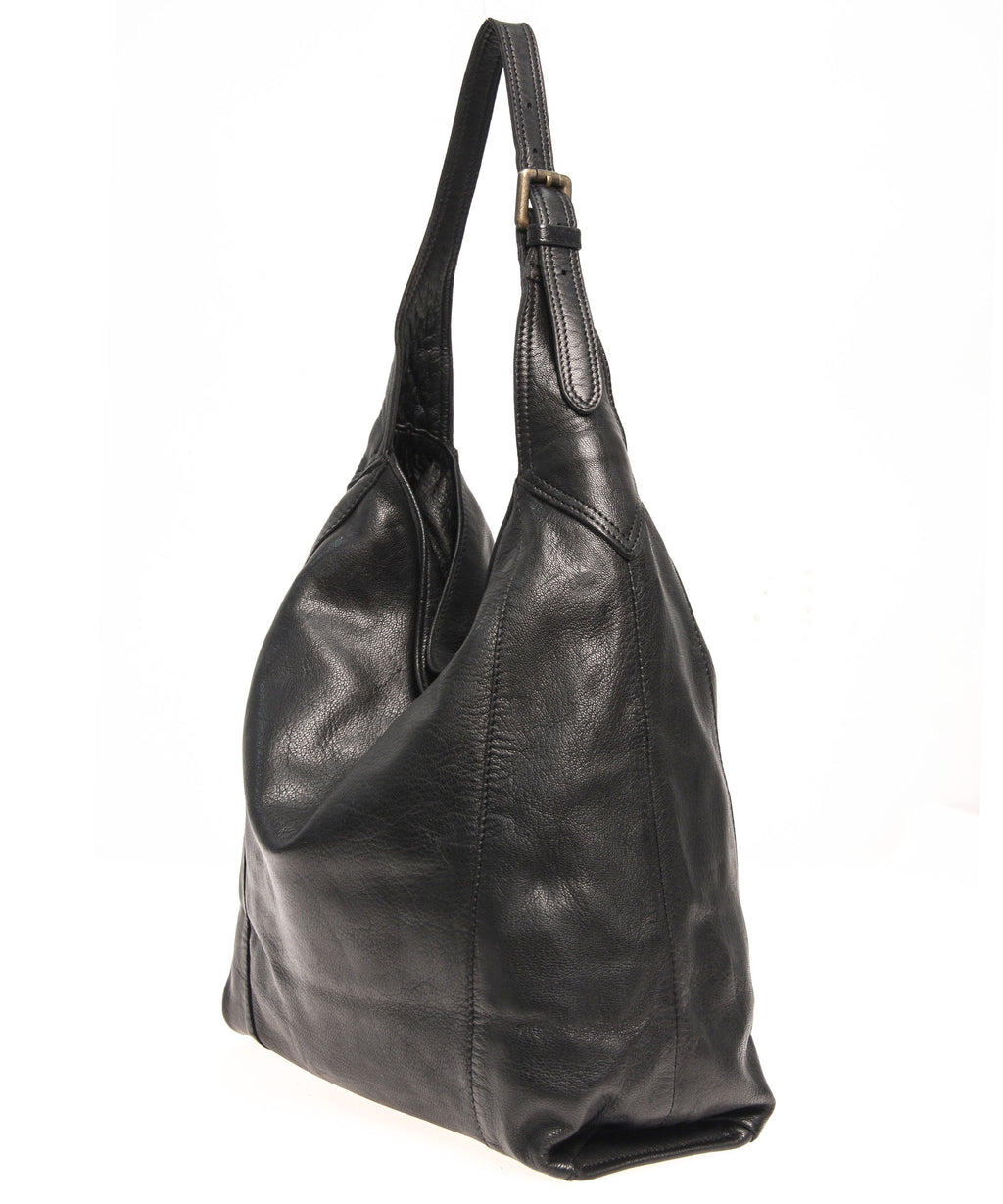 Tano Simple Hobo with Buckle Detail (2390929113172)