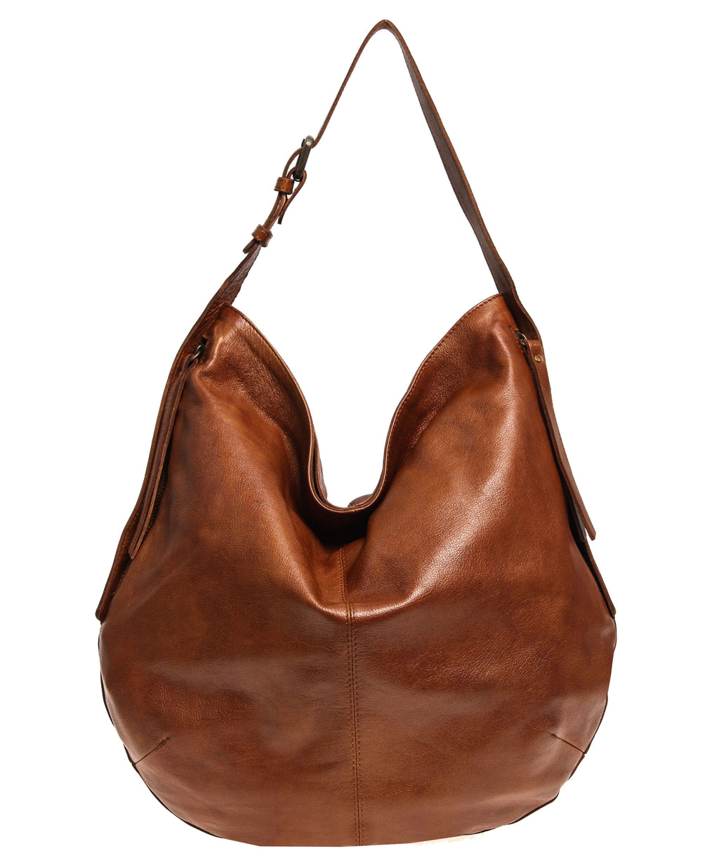 Tano Rounded Hobo with Two Side Zip Pockets (2390929080404)