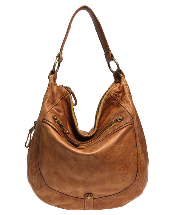 Tano Rounded Hobo with EZ Front Zip