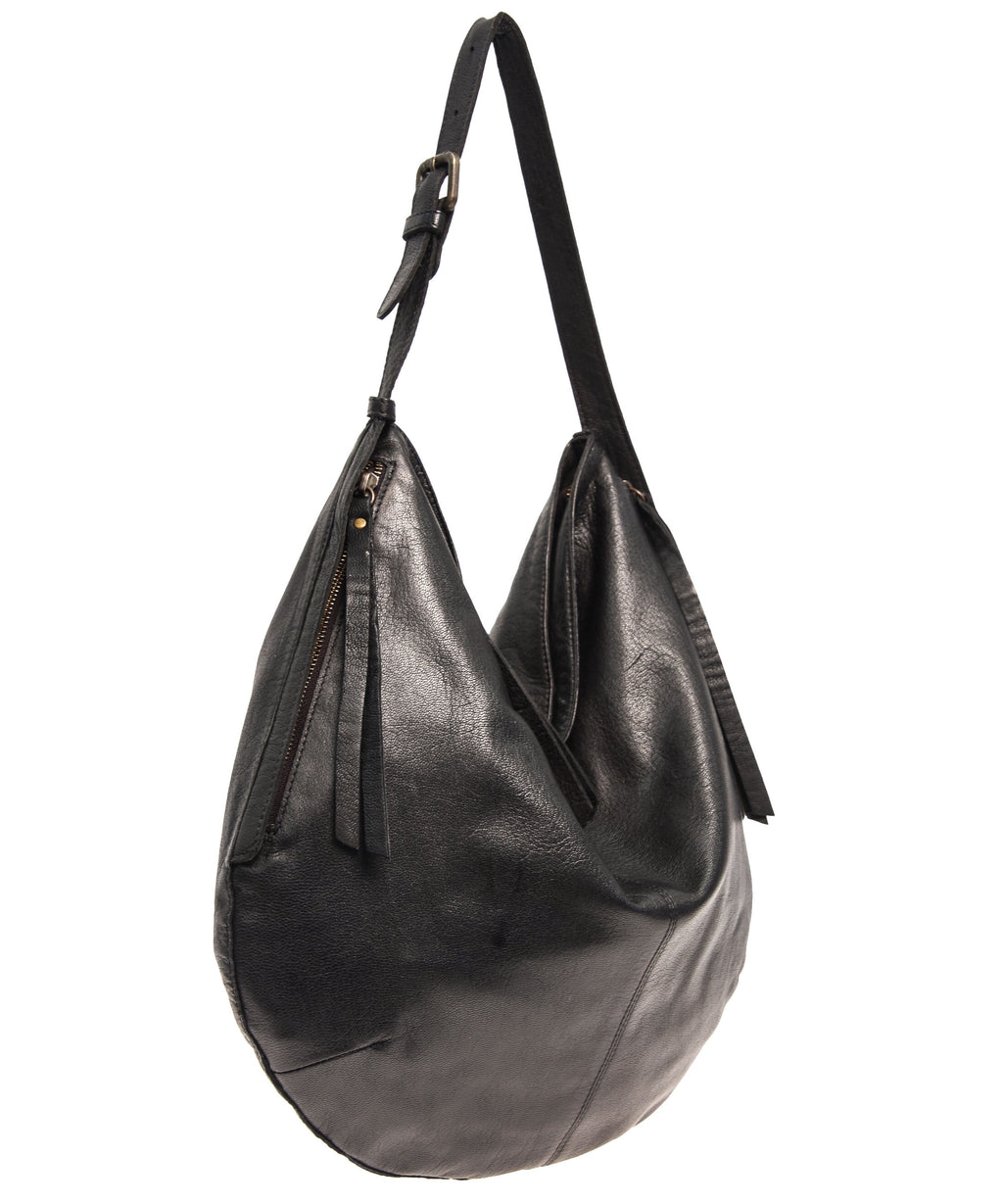Tano Rounded Hobo with Two Side Zip Pockets (2531220947028)
