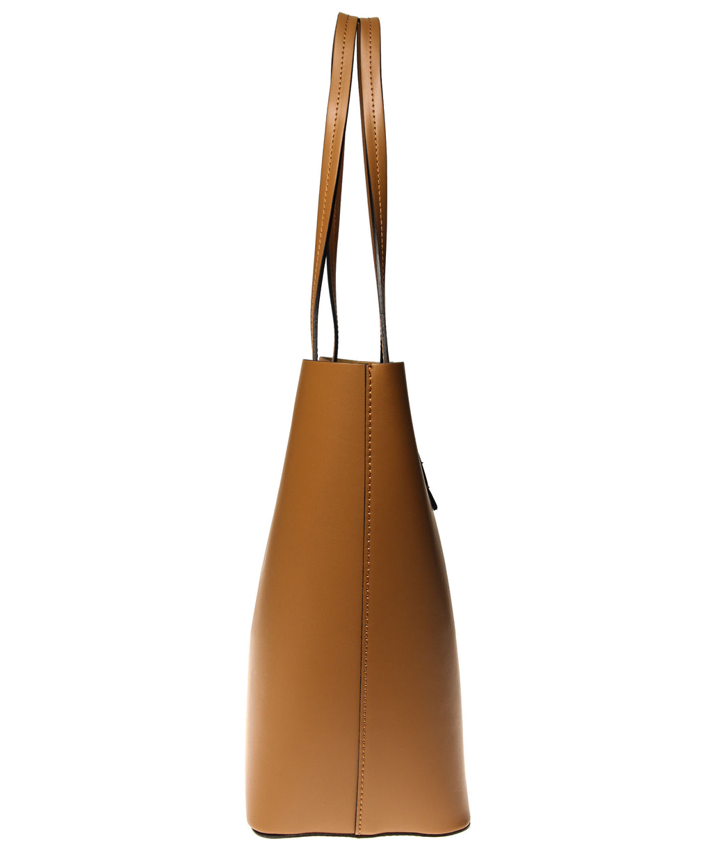 Italian Leather Lined Tote (4397082837076)