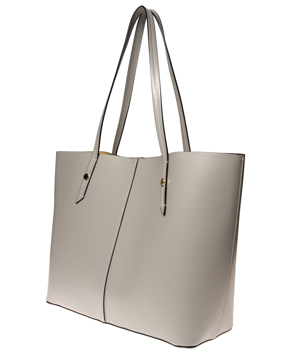 Italian Leather Lined Tote (4397082869844)