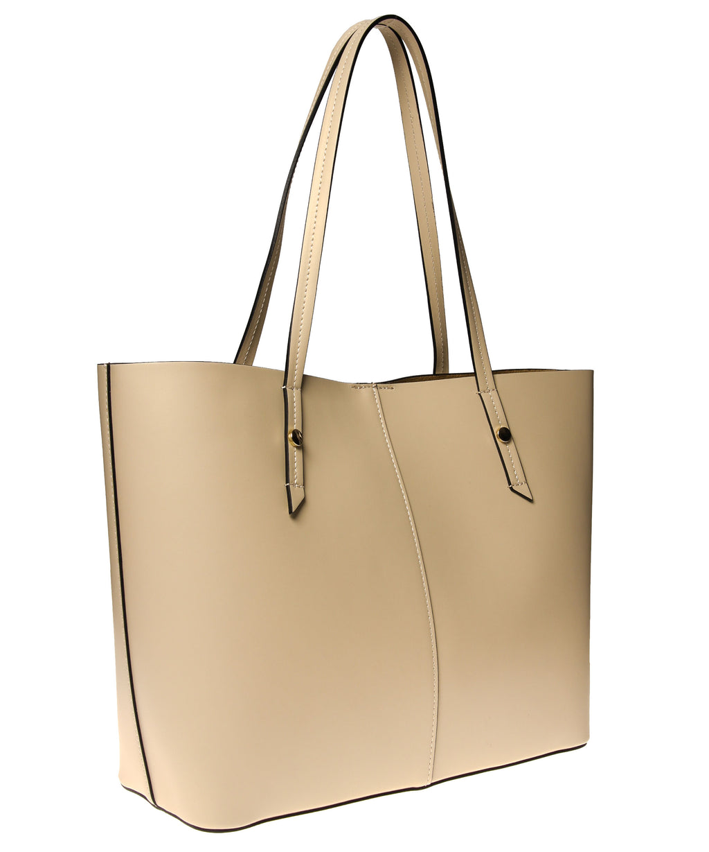 Italian Leather Lined Tote (4397082640468)