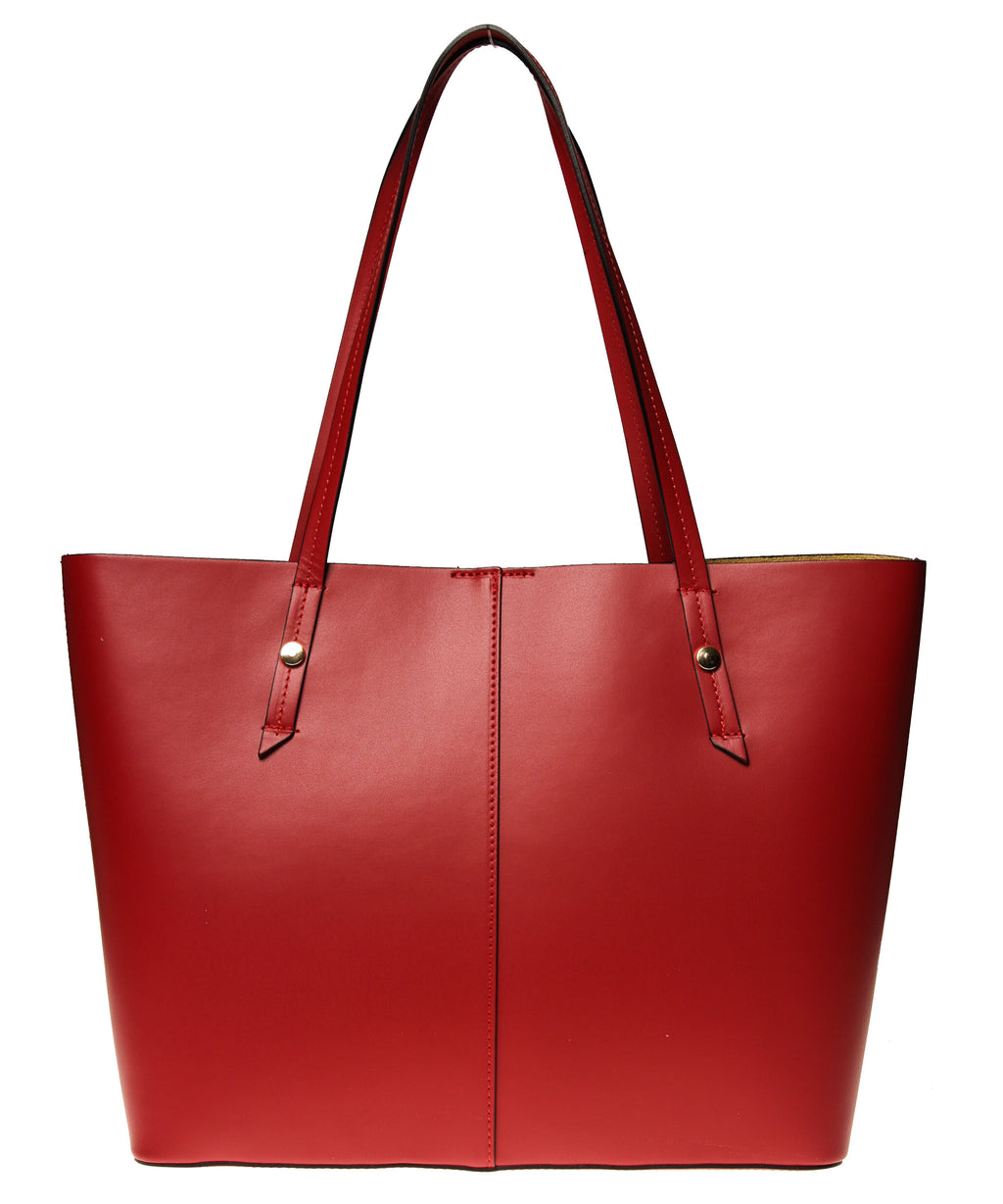 Italian Leather Lined Tote (4397082935380)