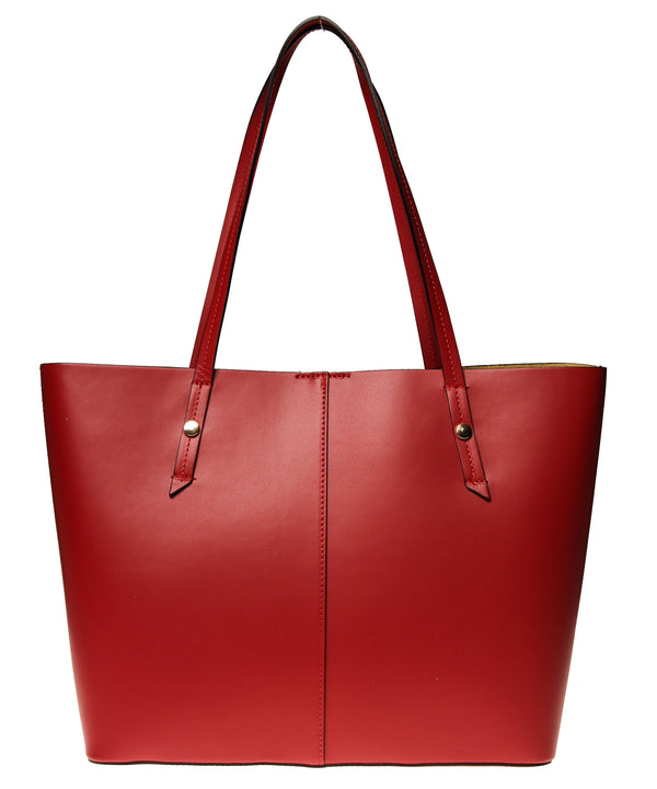 Italian Leather Lined Tote