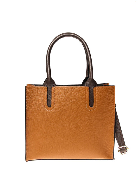 Italian Cut-Out Handle Satchel (4397079461972)