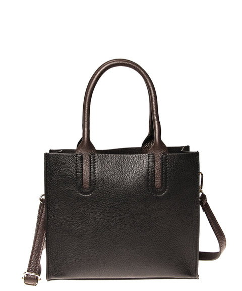 Italian Cut-Out Handle Satchel (4397079199828)