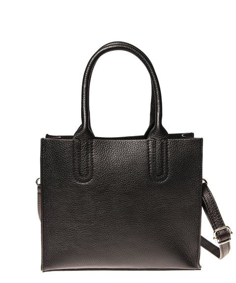 Italian Cut-Out Handle Satchel (4397079330900)