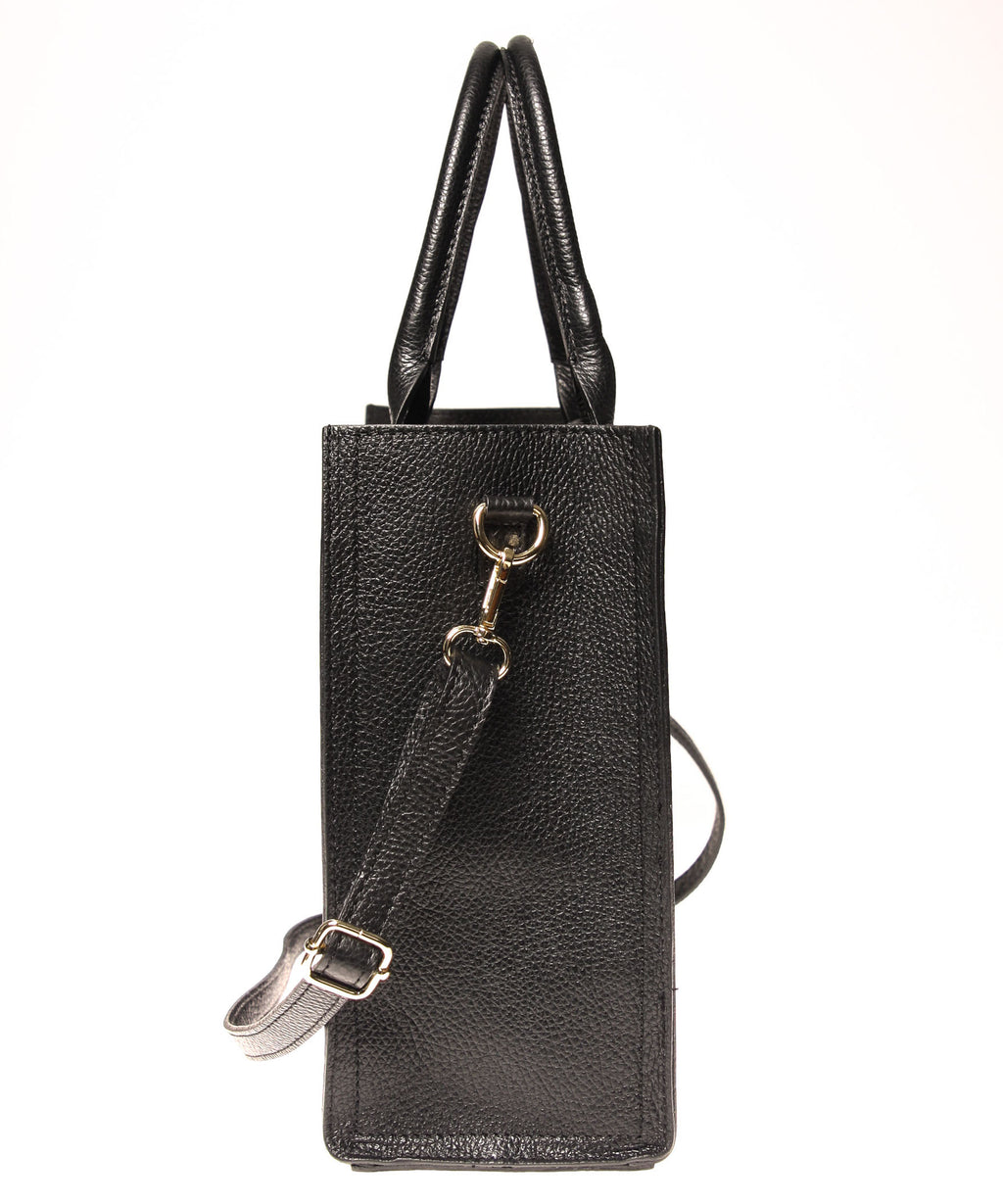 Italian Cut-Out Handle Tote (4397076873300)