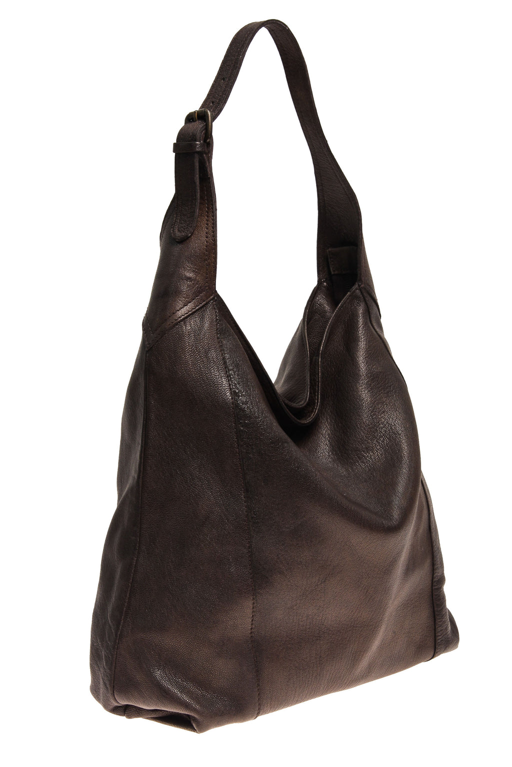 Tano Simple Hobo with Buckle Detail (1324820004948)