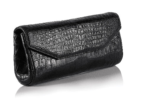 Zambezi Black Luena Clutch