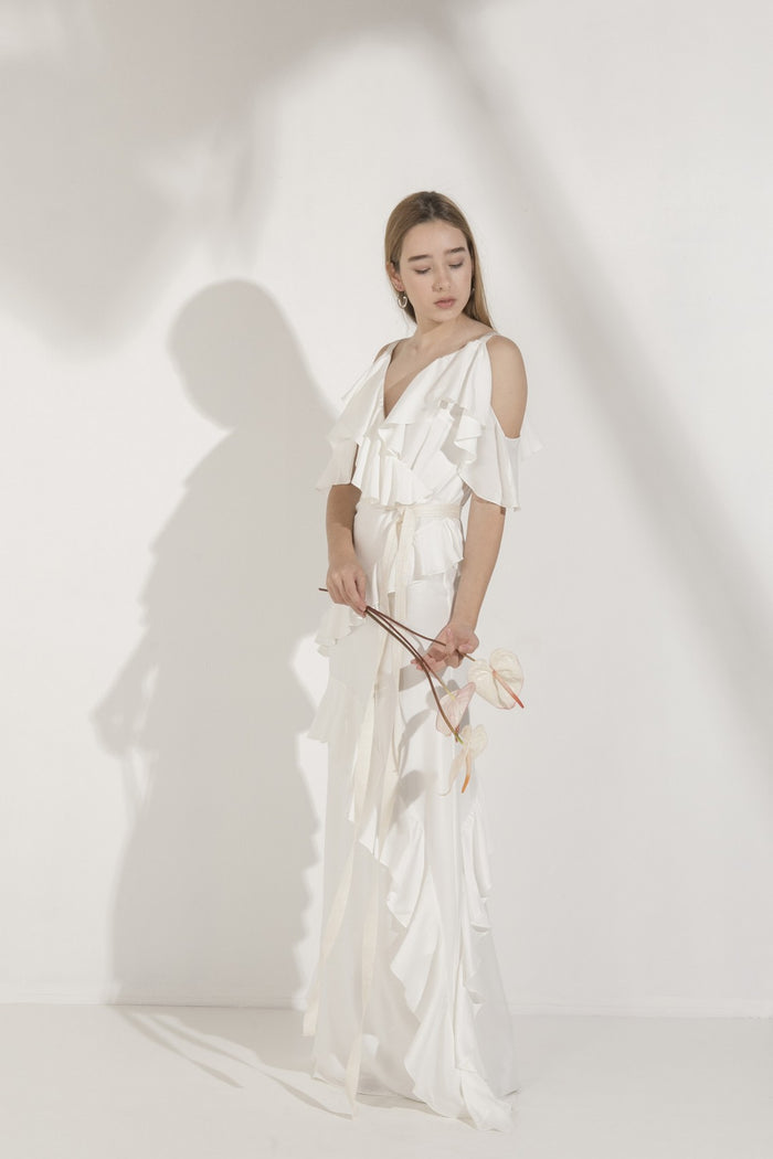 Vestido River Off White