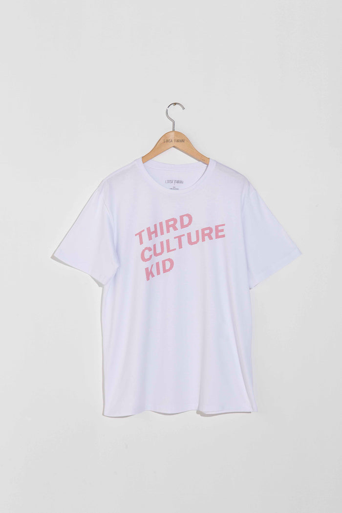 Camiseta Third Culture Kid Branca Masculina