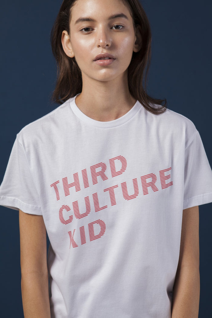 Camiseta Third Culture Kid Branca Feminina