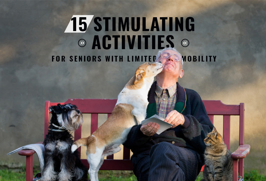 15 Stimulating Activities for Seniors with Limited Mobility