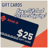 ROAD iD Gift Cards