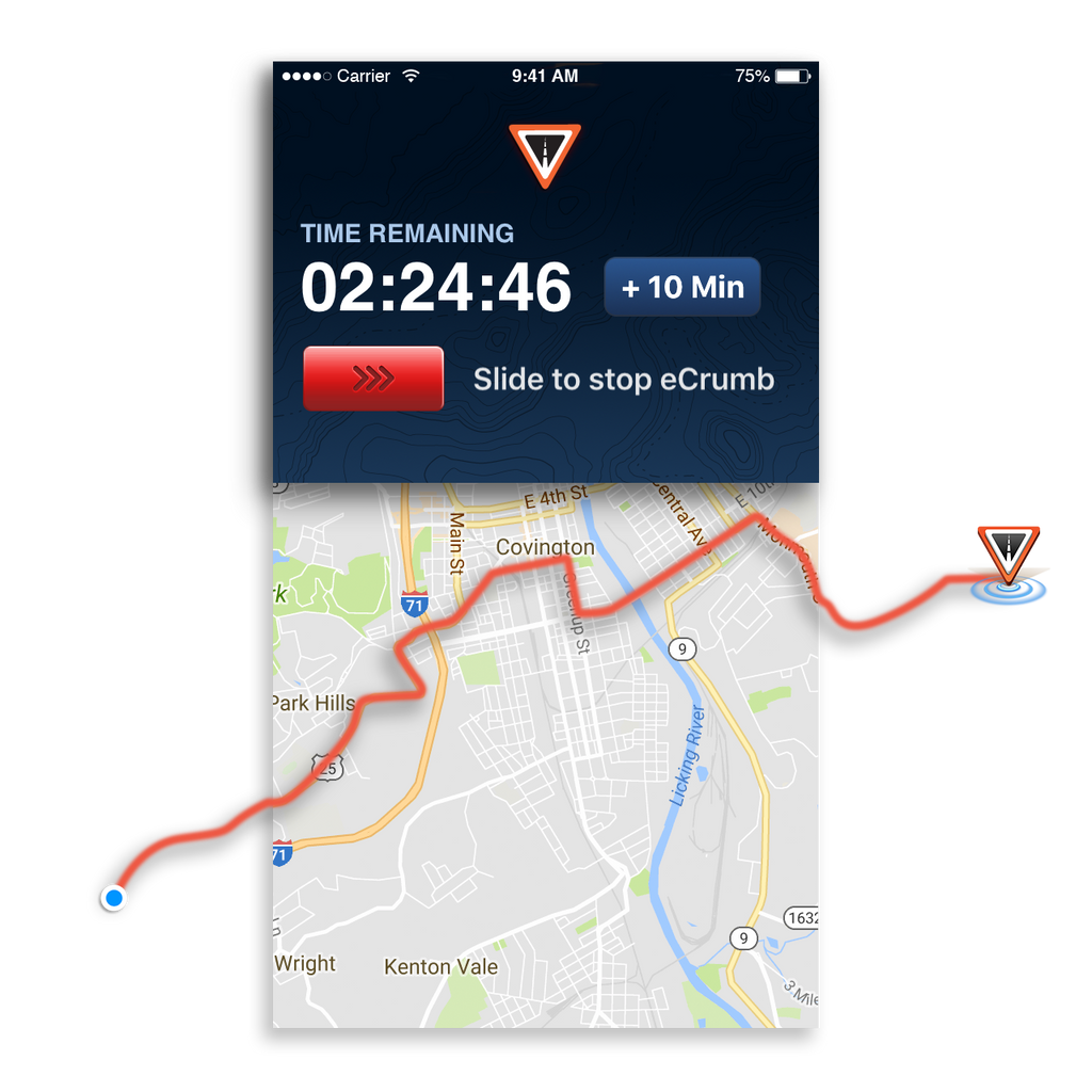 ROAD iD App - Runner Identification Phone App