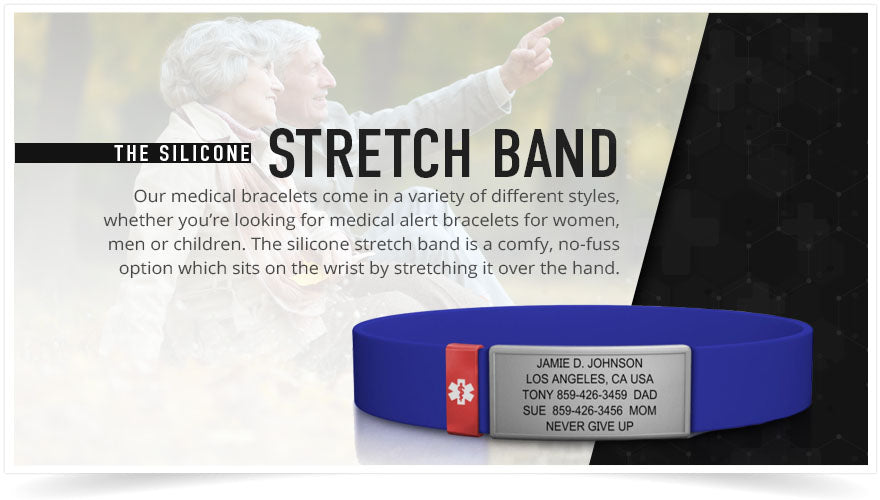 the silicone stretch band