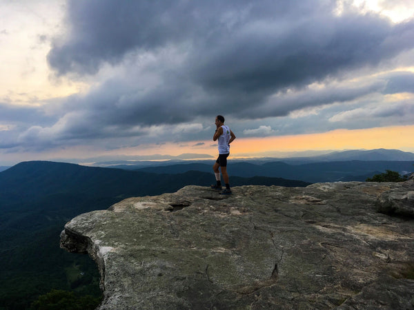 Harvey Lewis on the Appalachian Trail