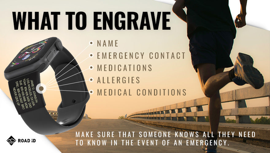 what to engrave on medical id