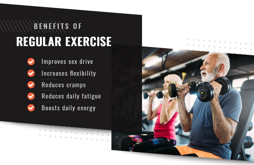benefits regular exercise