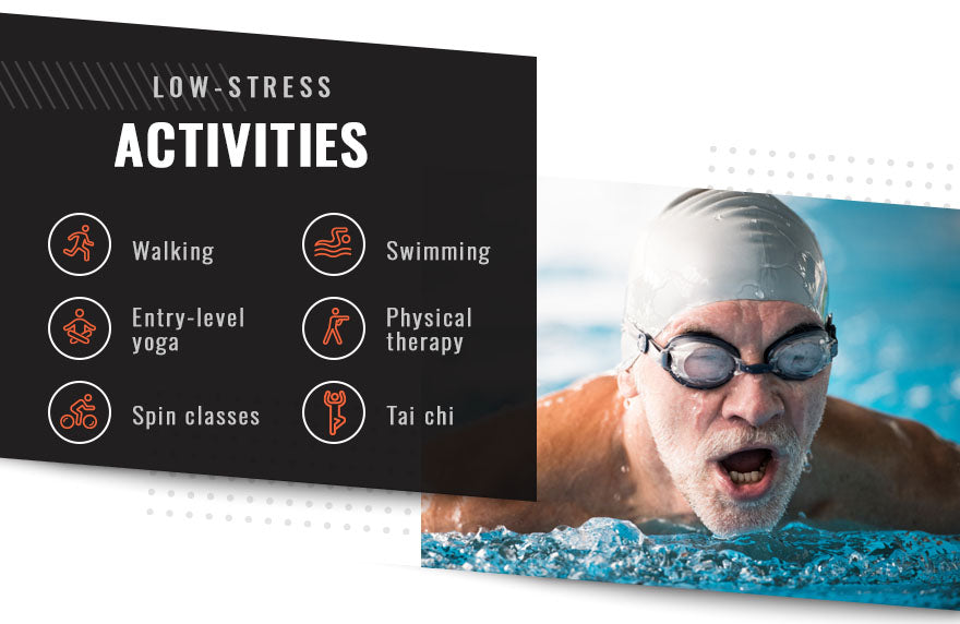 low stress activities