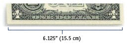 measure dollar