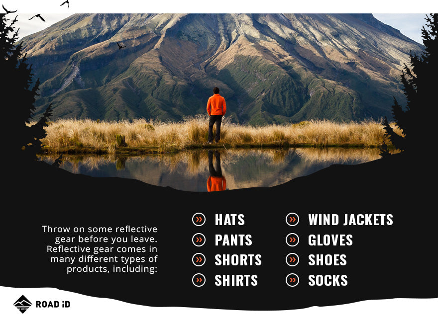types of reflective gear