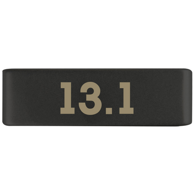 19mm Graphite 13.1 Half Marathon Badge for ROAD iD
