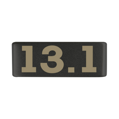 13mm Graphite Medical Alert Badge for ROAD iD