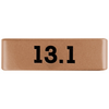 19mm Rose Gold 13.1 Half Marathon Badge for ROAD iD