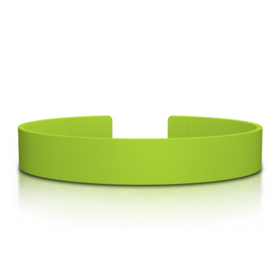 ROAD iD Replacement Band 13mm Lime Silicone Clasp