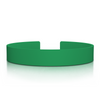 The Green 13mm Silicone Clasp Band