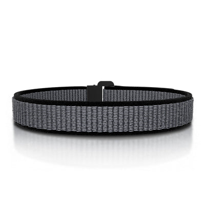 ROAD iD Bracelet 13mm Replacement Band Graphite on Iron Nylon Loop