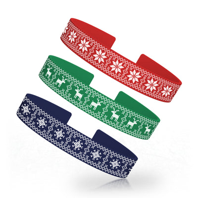 Christmas Sweater Silicone Clasp Elite Band Packs