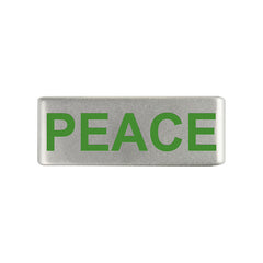 13mm Peace Joy and Love Badges