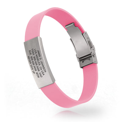 Pink Silicone Clasp for the Cure