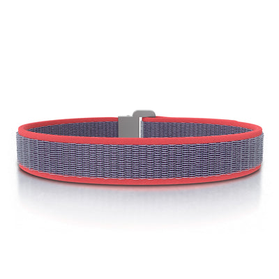 ROAD iD Bracelet 13mm Replacement Band Slate on Coral Nylon Loop