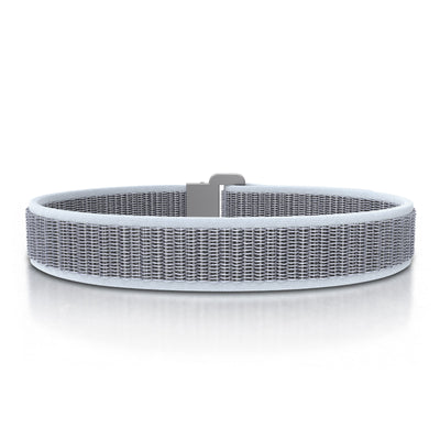 ROAD iD Bracelet 13mm Replacement Band Slate on Hazy Nylon Loop