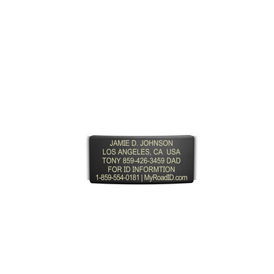 ROAD iD 13mm Graphite Replacement Faceplate with Online Profile