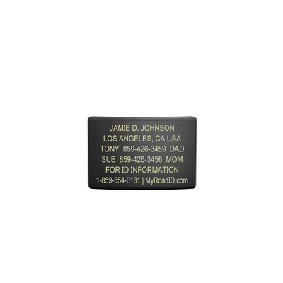 ROAD iD 19mm Graphite Replacement Faceplate with Online Profile