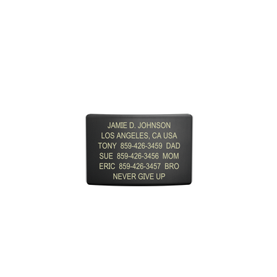 ROAD iD 19mm Graphite Replacement Faceplate