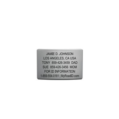 ROAD iD 19mm Slate Replacement Faceplate with Online Profile