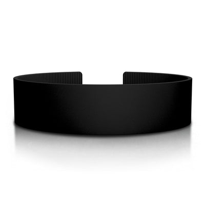ROAD iD 19mm Replacement Band Black Silicone Clasp