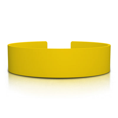 ROAD iD 19mm Replacement Band Yellow Silicone Clasp