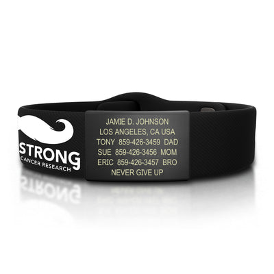 StacheStrong Sport Pin-Tuck ID